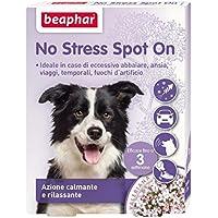 New Beaphar No Stress Spot On 3 pipette - Per cane, azione calmante e rilassante