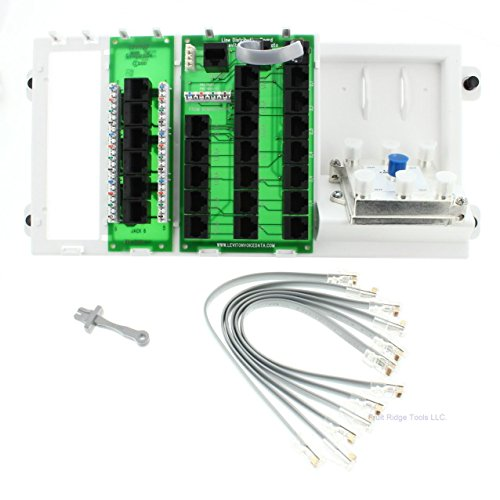 Leviton 035-47603-AHT Advanced Home Distribution Panel with Telephone and Video Modules