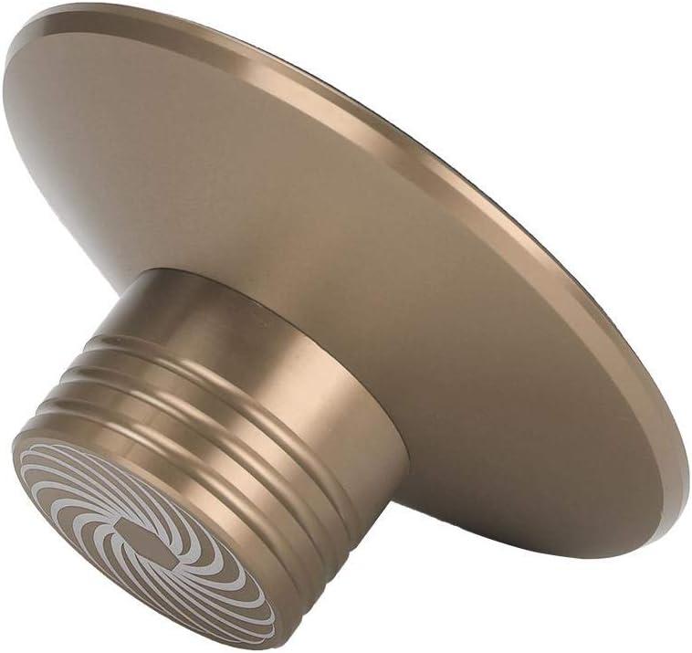 Pince de stabilisateur de Plateau tournant /à Disque Vinyle Regun Pince de stabilisateur de Plateau tournant /à Disque Or
