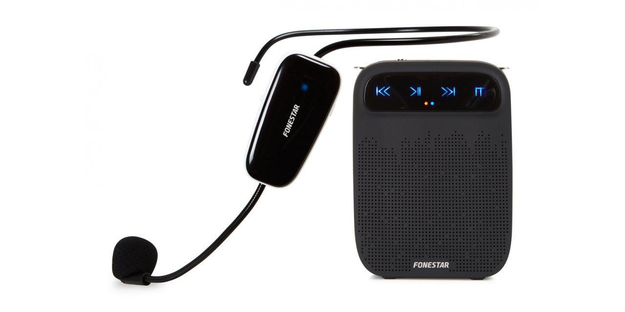 Altavoz PORTATIL para Cintura con Micro INALAMBRICO FONESTAR Alta-Voz-W: Amazon.es: Electrónica