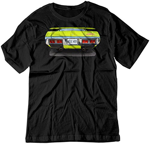 Pictures Plymouth Gtx (BSW Men's Nice Ass 1971 Plymouth GTX V8 Shirt MED Black)