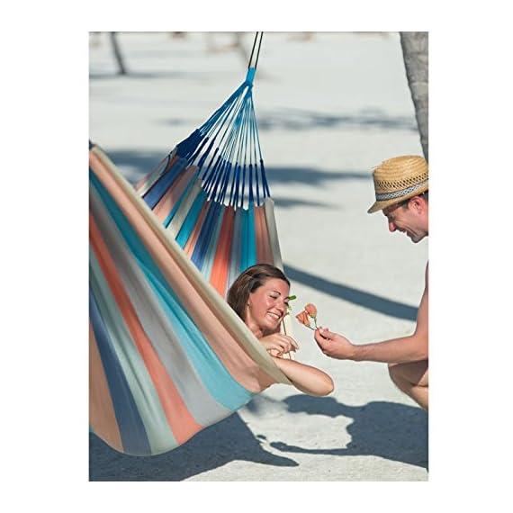 LA SIESTA Colombian Weatherproof Hammock -  - patio-furniture, patio, hammocks - 51LOlQdXsHL. SS570  -