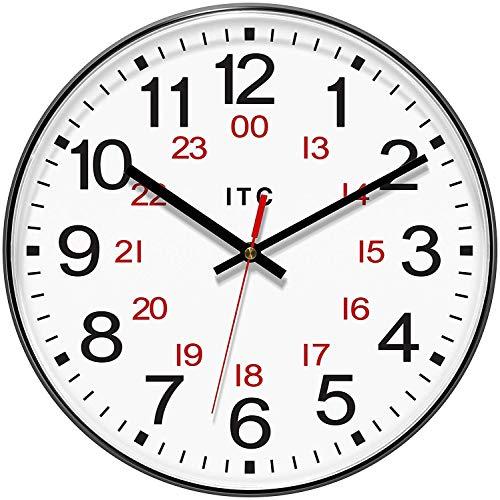 INFINITY/ITC 90/1224-1 Combination 12/24 Hour Clock, 12
