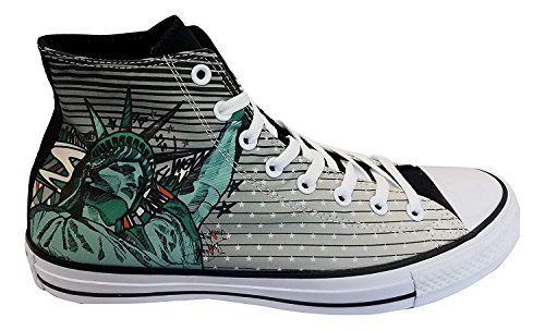 Converse Mens CTAS Hi Shoe White/Black/Patina 155058C (US - Converse Truck