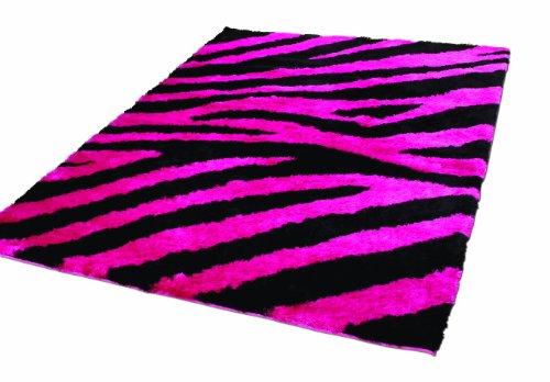 Teppich pink  Rugs With Flair Teppich Splendour Shazam, 160 x 220 cm, schwarz ...