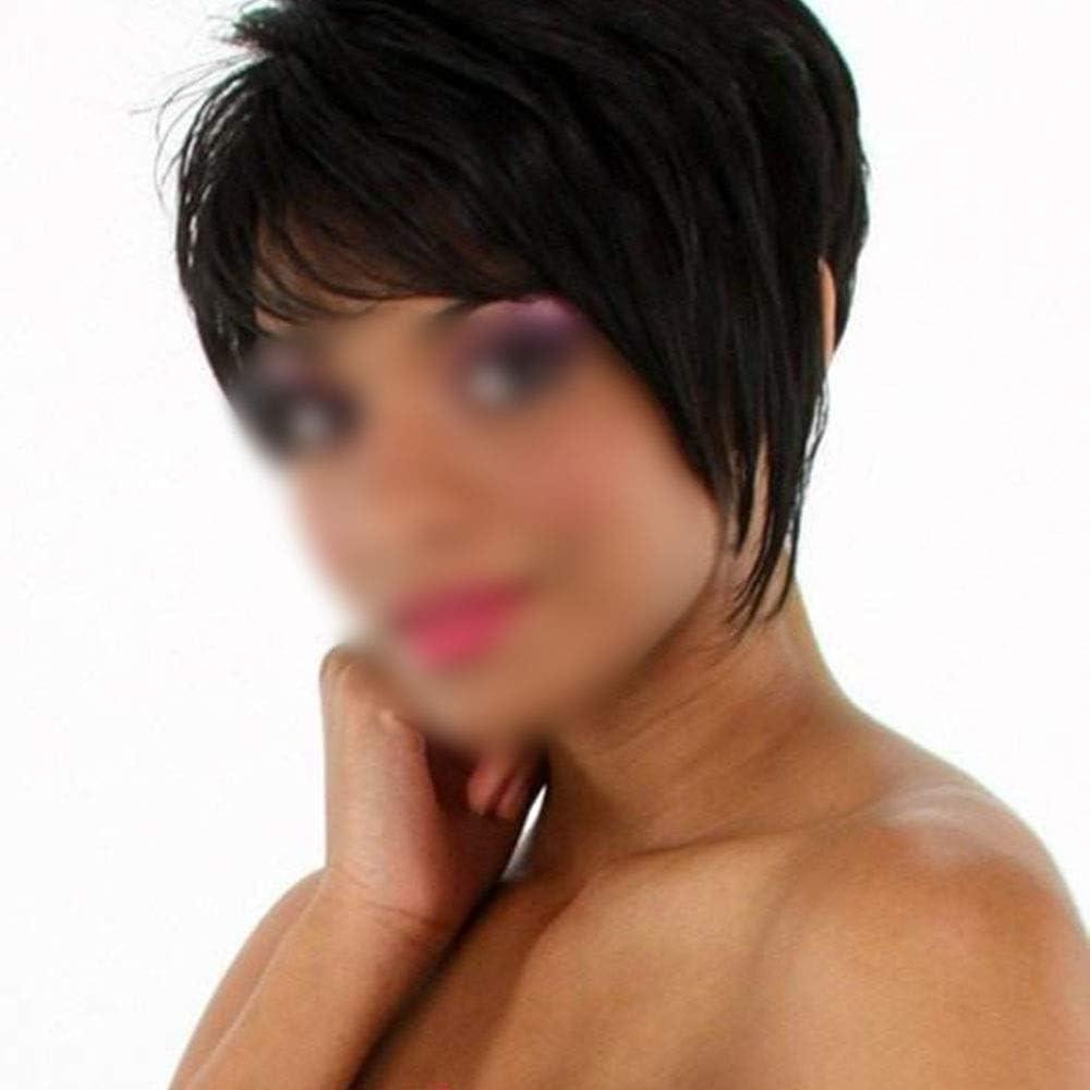 LNLW Accesorios de peluca de moda de pelo corto y esponjoso ...