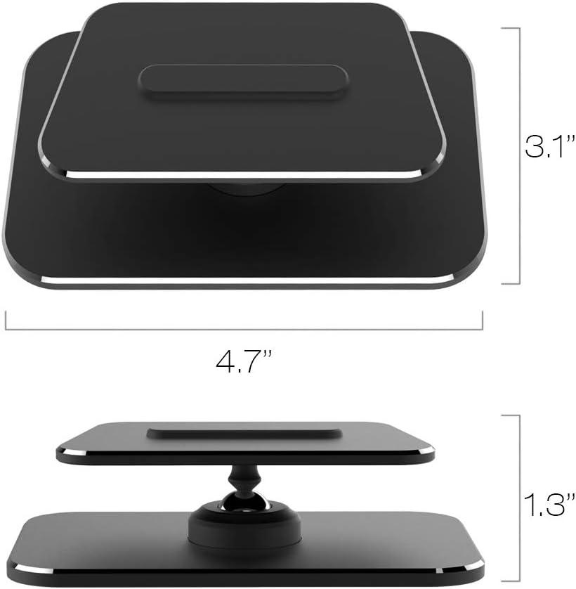 Metal Adjustable Stand for Echo Show 8 Black 360 Degree Swivel Holder for Echo Show 8 Aluminum Tilt Echo Show 8 Stand