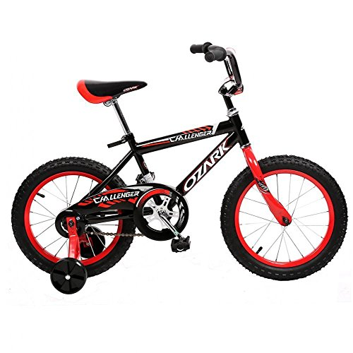 "NEW 16"" Steel Frame Children BMX Boy Kids Bike Bicycle With Training Wheels 16B"