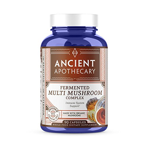 Ancient Apothecary Fermented Multi Mushroom Supplement, 90 Capsules – 7 Organic Mushrooms, Essential Oils, Ashwagandha Extract and Digestive Bitters Review