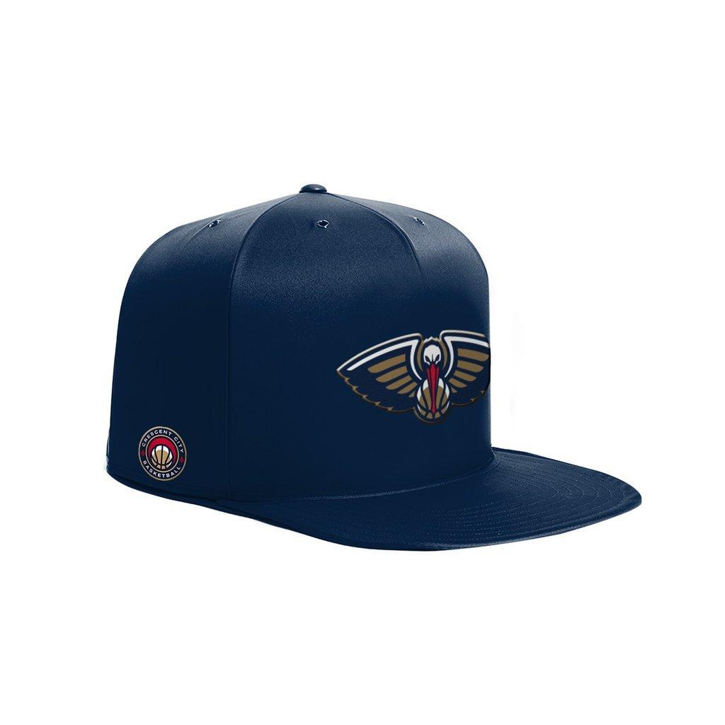 NBA New Orleans Pelicans NAP CAP Pet Bed, Navy, Small