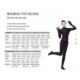 - 51LOnsYjL2L - Spandex Full Bodysuit One Piece Unitard Women Unitards For Women