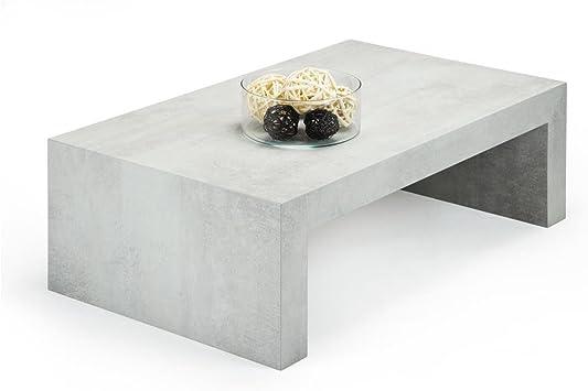 Mobili Fiver, First H30, Mesa de Centro, Gris Cemento, 90 x 54 x ...