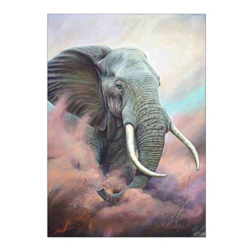 Lvyuanda Elephant DIY 5D Diamond Paintings Embroidery Cross Craft Stitch Wall