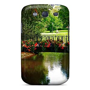 Galaxy S3 Case, Premium Protective Case With Awesome Look - Beautiful Bridges Free Lovely View