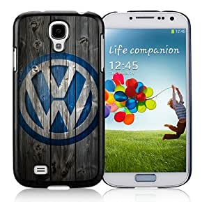 Custom-ized Design Volkswagen logo Black Samsung Galaxy S4 I9500 Protective Phone Case