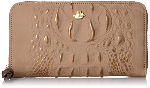 Suri Wallet Wallet, Gold, One Size by Brahmin