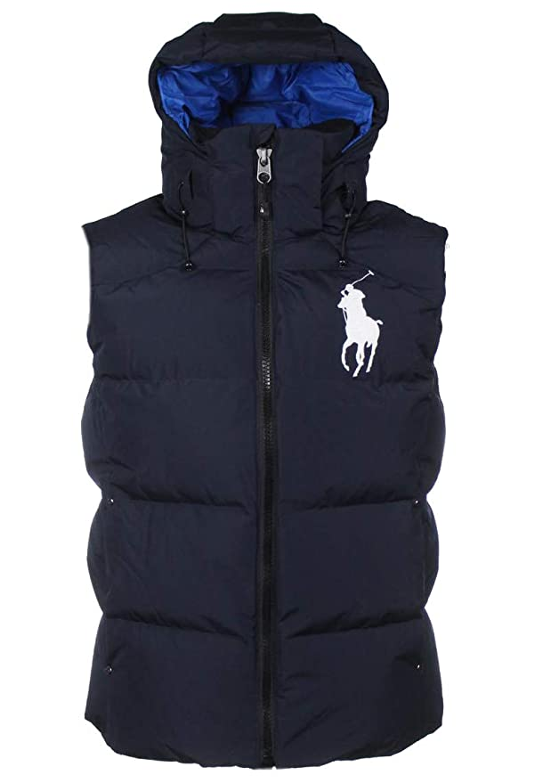 gut kaufen Turnschuhe Outlet Store Verkauf Ralph Lauren Herren Weste - Marineblau - Big Pony: Amazon.de ...
