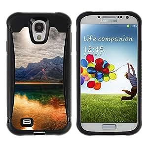 "Hypernova Defender Series TPU protection Cas Case Coque pour Samsung Galaxy S4 IV I9500 [Sunset Beautiful Nature 41""]"