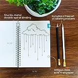 Spiral Dot Grid Notebook, Bullet Journal