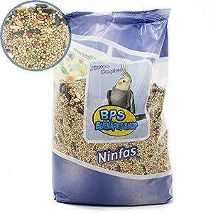 BPS Pienso NINFA Alimento Completo Comida con Formula Alta Energía Material Natural Receta Equilibrada con Base…