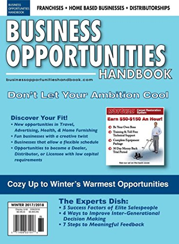 : Business Opportunities Handbook