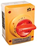 ALTECH CORPORATION KEM325UL Y/R Yellow / Red Handle 3 Pole 25 A Enclosed Motor Disconnect Switch - 1 item(s)