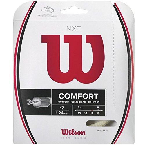 Wilson NXT 17 Gauge Natural Color Multifilament Tennis String 2-Pack (2 Sets Per Order)