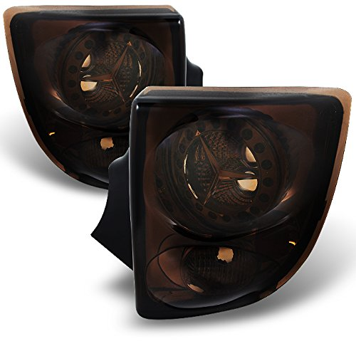 For Toyota Celica 2Dr Coupe LED Style Smoke Tail Lights Brake Lamps Replacement Left + Right Pair - Coupe Celica