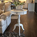 Décor Therapy FR1464 Pedestal Table with