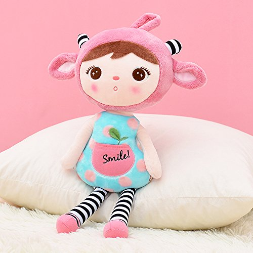 Me Too Keppel Stuffed Pink Sheep Girl Baby Dolls Plush Toys 18 Inches by Me Too
