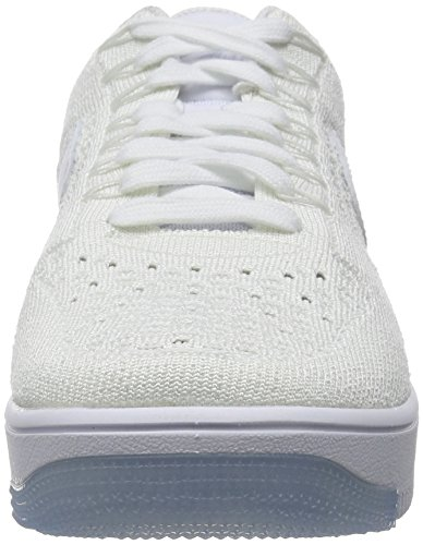 White 1 Men White Sneakers Lifestyle Flyknit White Nike Force Ice Low New Air Ultra vWwc1qgE