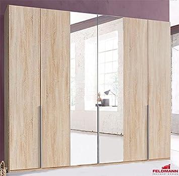 Kleiderschrank Schlafzimmer 729137 Schrank eiche sägerau 270cm 6 ...