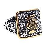 AsoodehDelan Gold Silver Pt Iranian Persian Cyrus The Great Ring Iran King Gift