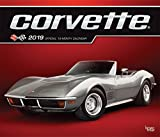 Corvette 2019 12 x 14 Inch Monthly Deluxe Wall Calendar with Foil Stamped Cover, Chevrolet Motor Muscle Car (English, French and Spanish Edition)