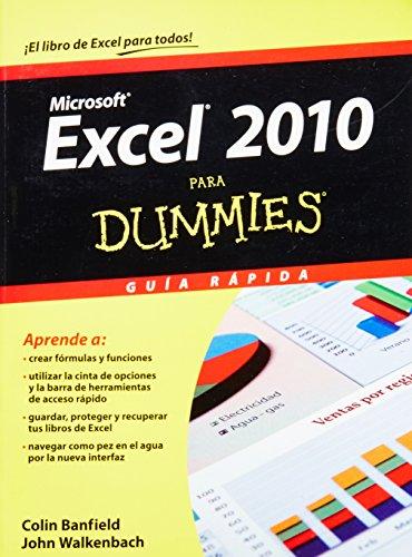 Excel 2010 para Dummies (Para Dummies/For Dummies) (Spanish Edition)