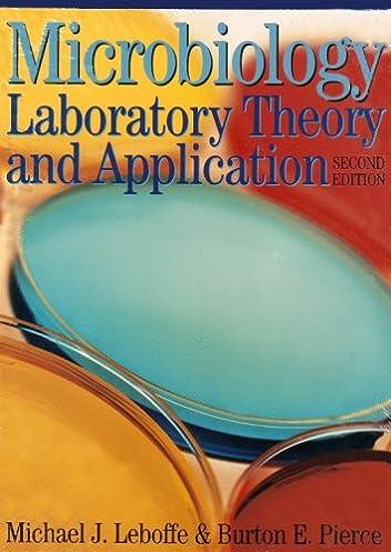 microbiology laboratory theory and application michael j leboffe rh amazon com Microbiology Laboratory Manual Cell Identification Microbiology Laboratory Manual Answers Sheets