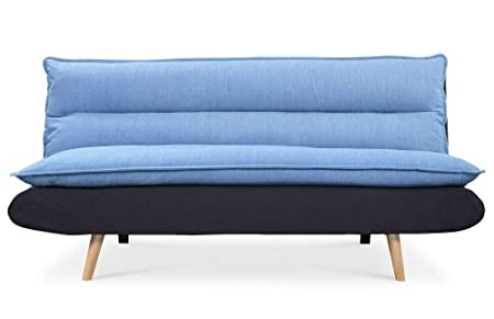Remarquable Scandinavian Convertible Sofa Blue and Black: Amazon.co ...