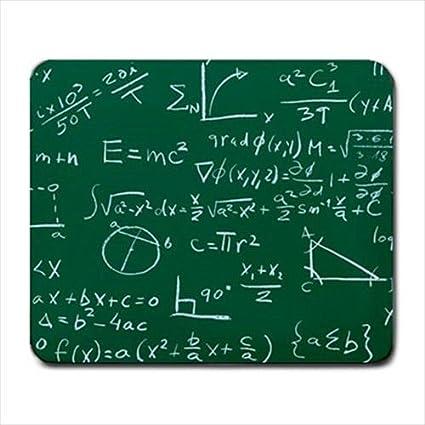 Matemáticas Fórmula Profesor diseño de placa de Profesor Alfombrillas de ratón Pad Mousepad