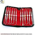 G.S 12 PCS SINUS LIFT INSTRUMENTS SET IMPLANT DENTAL DENTISTRY DOUBLE ENDED