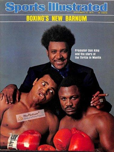 Sports Illustrated Magazine (Muhammad Ali , Joe Frazier ,Don King , the Thrilla in Manila, September 15 , 1975) from Sports Integrity