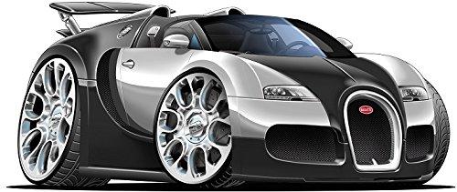 24 Quot 2010 Bugatti Veyron Grand Sport Black W Silver Super