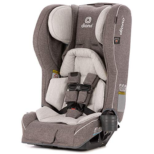 Diono Rainier 2AXT All-In-One Car Seat, From Birth to 54 kg (120 lbs), Oyster Grey