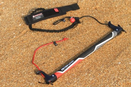 Peter Lynn 2 Line Kite Control Bar Accessory with Kite Killer Safety Wrist Leash System