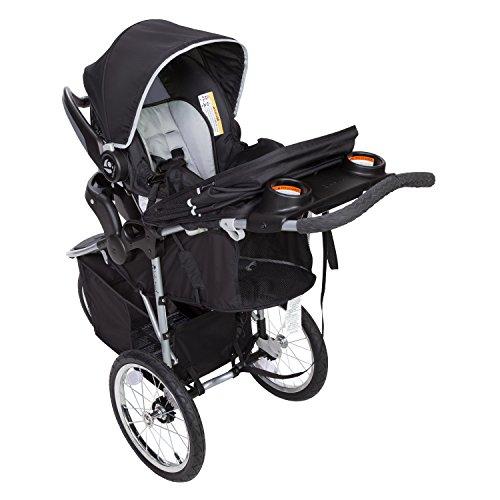 51LOuJsu04L - Baby Trend Pathway 35 Jogger Travel System, Optic Grey