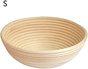 Geraffely Bread Fermentation Proofing Basket for Homemade Crusty Fresh, Easy to Bake Bread with Professional Marks Rising Dough Bread
