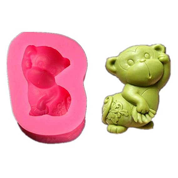 Amazon.com: VALINK Silicone Fondant Cake Molds, 3D Goat Animal Shaped Silicone Chocolate Mould Candle Moulds Soap Baking Mold, DIY Cake Decor Icing ...