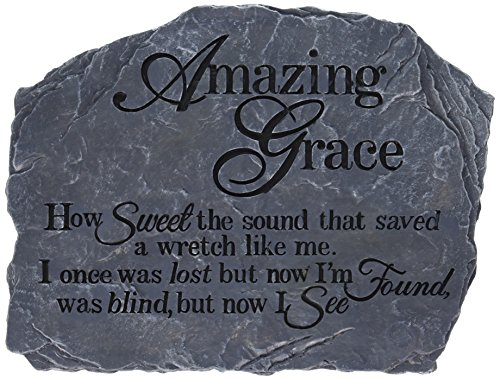 Carson Home Accents Garden Stone, 10.5-Inch by 8-Inch, Amazing - Store Bayside Hours