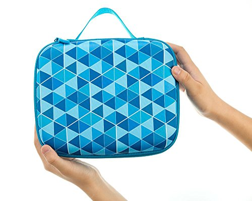 ZIPIT Colorz Lunch Box, Blue Photo #3