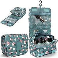 Latiq Mart Multi Functional Travel Organizer Accessory Toiletry Cosmetics Bag Makeup or Shaving Kit Pouch For Men & Women || Hanging Toiletry Bag Travel Organizer