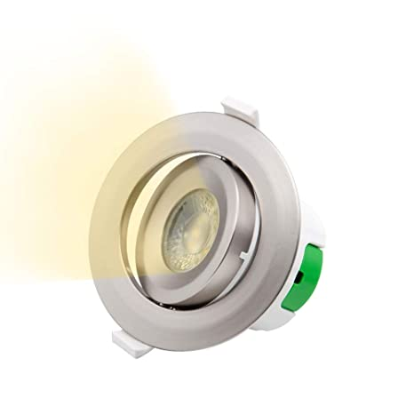 Lampara Plafon Foco Downlight de Empotrar LED Angular en ...